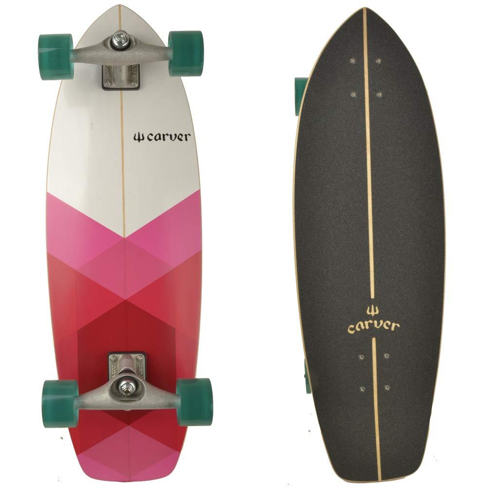 Carver Firefly completa Surf monopatín longboard/Cruiser/30.25