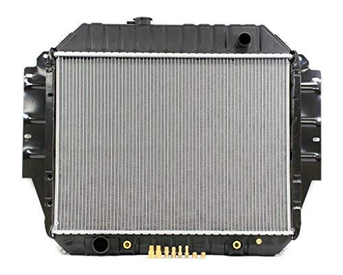Radiator - Pacific Best Inc For/Fit 1456 92-96 Ford Econoline Van V8 5.0/5.8L - Van 96 Econoline Ford