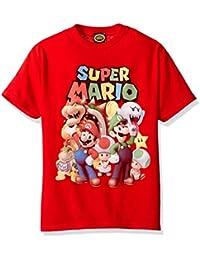 Boys' Super Mario Groupage Graphic T-shirt