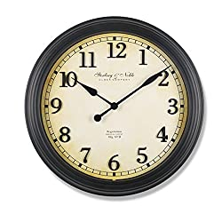 SPLY DTEM Wall Clock Westclox 32213 Round Oversized Classic Clock, 24 Inches