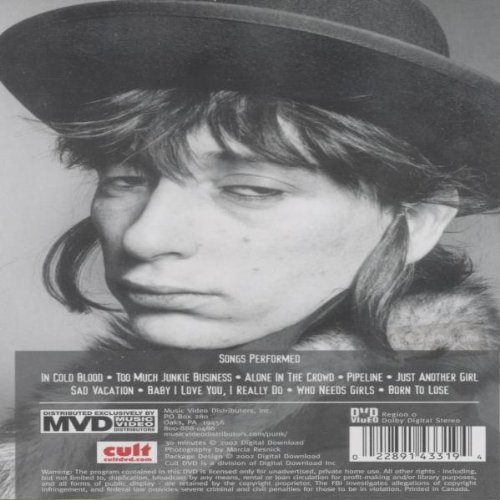 Johnny Thunders Live: In Cold Blood by Mvd Visual