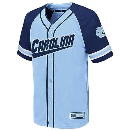 6eb9919826a Colosseum Youth UNC North Carolina Tar Heels Wallis Baseball Jersey - S