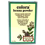 Colora Henna Veg-Hair Wheat Blonde 59 ml (3-Pack) with Free Nail File