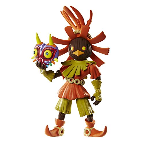 World of Nintendo The Legend of Zelda Skull Kid Action Figure with Mask, 4 Inches (World Of Nintendo Skull Kid 4 Inch)