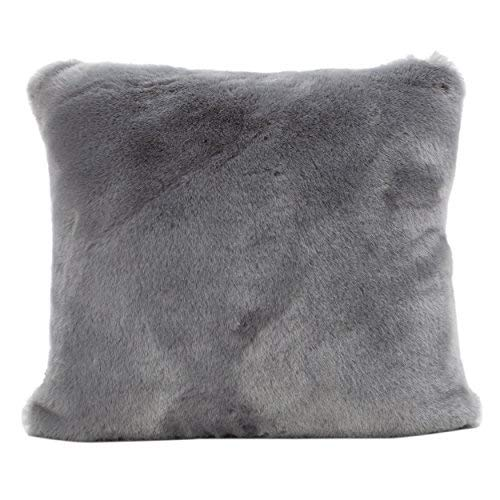 Ellison Sterling Decorative Faux Fur Fabric Throw Pillow (Set of 2) | Ideal for The Living Room or Bedroom | Plush Texture [並行輸入品] B07R6ZC1Z2