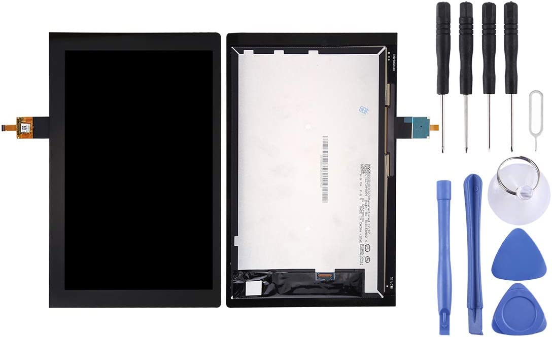 Color : Black Repair Broken Screen,LCD Screen and Digitizer Total Assembly for Lenovo Yoga Tab 3 10 inch // YT3-X50F YANGCAIBAFACTORY New Screen Replacement Repair Kit Black