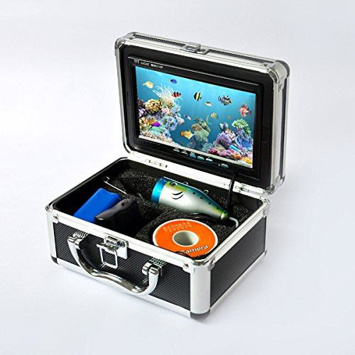 (New 7 inch TFT LCD Video Camera System Fish Finder HD 600TV Lines Underwater)
