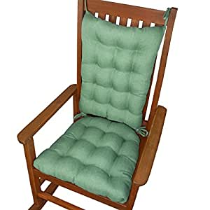 Rocking Chair Cushions Hayden Turquoise Size Standard Rever