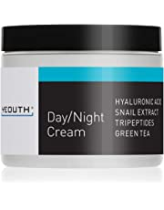 YEOUTH Day Night Moisturizer for Face with Snail Extract, Hyaluronic Acid, Green Tea, and Peptides, Anti Aging Day Cream or Night Cream Moisturizer for Dry Skin, 4 oz - GUARANTEED