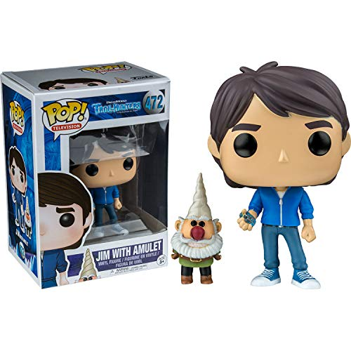 Funko Pop 14397 Trollhunters - Figura de Jim with Amulet (9