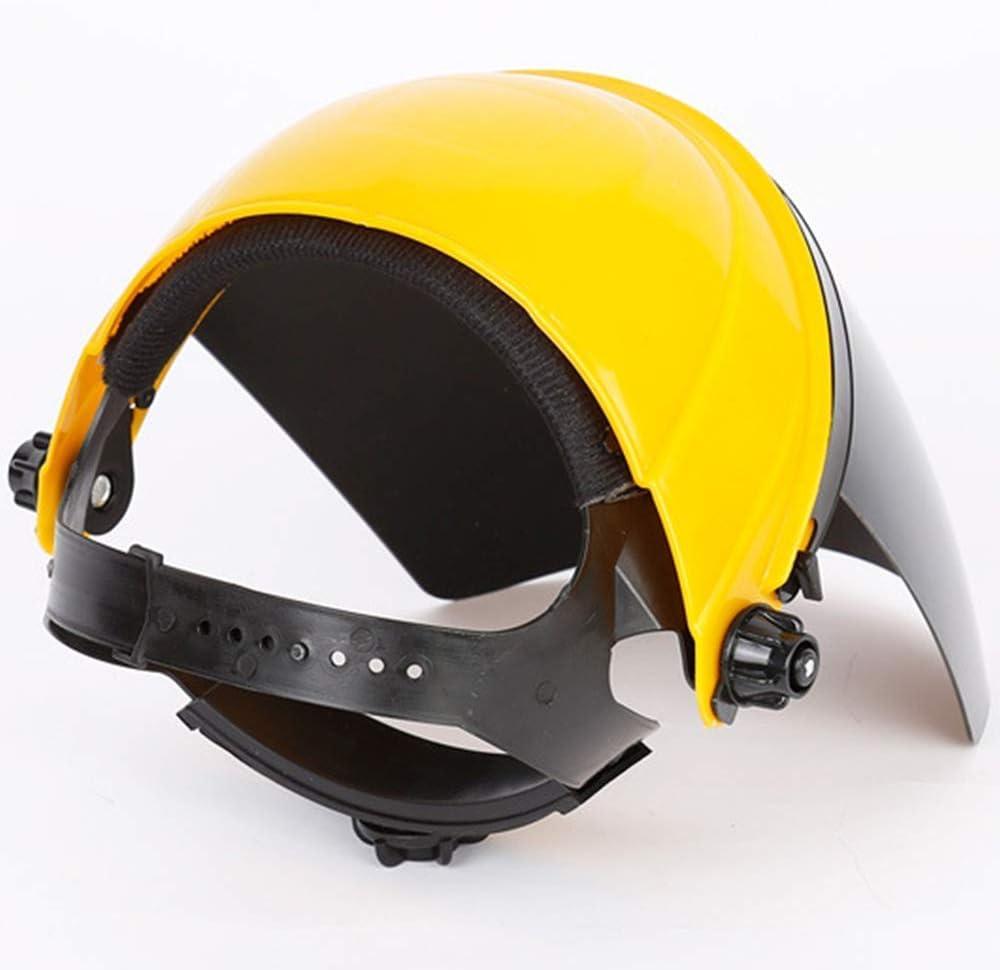 Pantalla de molienda Amplia y Transparente Cuthf Visera Protectora para la Cara de Seguridad para la Cara y los Ojos m/áscara Protectora de Seguridad