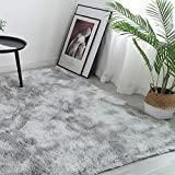 5x8 Grey Area Rugs for Living Room, Bedroom, Home