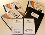 KIT C29 - MASONRY for California w/LAW & BUSINESS & Online Practice Exams, Instructors on CDs