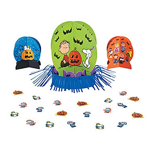 Peanuts Snoopy Great Pumpkin Halloween Table Decorating Kit -