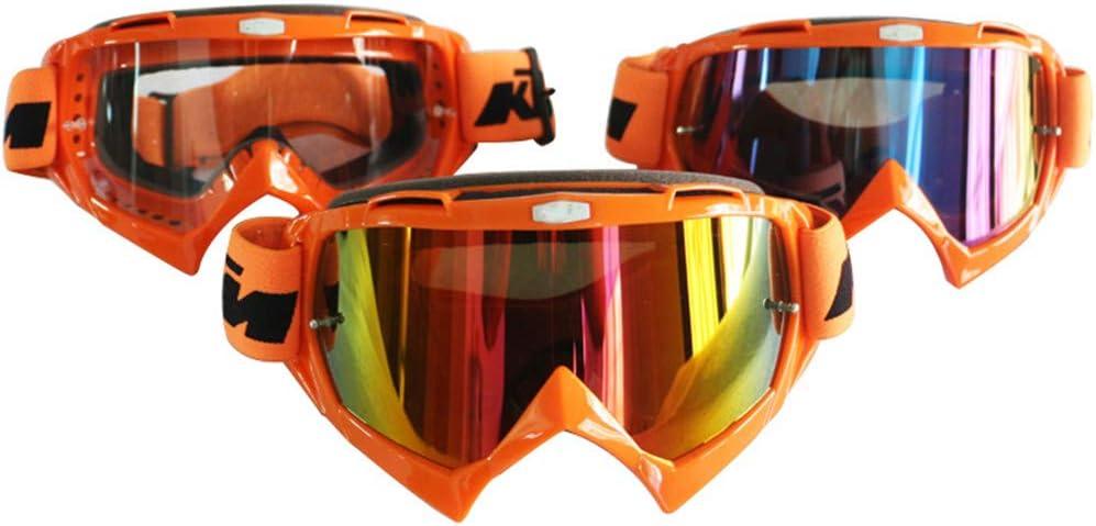 H-MetHlonsy Motocross Brille ATV DH MTB Dirt Bike Brille Motocross Sonnenbrille F/ür Motorradhelm