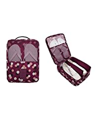 1PC Fashion Travel Portable Shoe Bags Multicolor Storage Organizer Bag for Men Women