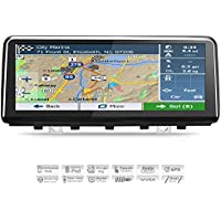 AIMTOM 2015-2018 BWM X5 F15 In-dash GPS Navigation Android Stereo Bluetooth, 10.25 Big Touch Screen Navi with WIFI A2DP AV Receiver Multimedia Player FM AM USB Infotainment System