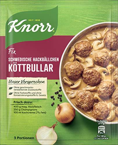Knorr Fix Schwedische Hackbällchen Köttbular 3 Portionen (1 x 49 g)