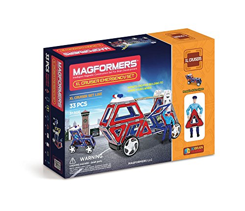 Magformers Cruisers Emergency Set 33 pieces