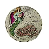 Cheap Comfy Hour 10″ Angel Home Sweet Home Garden Stepping Stone