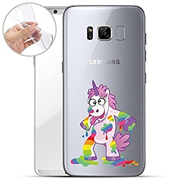 Finoo Samsung Galaxy S8 Weiche Flexible Amazonde Elektronik