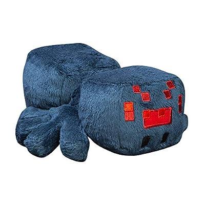 "JINX Minecraft Happy Explorer Cave Spider Plush Stuffed Toy (Blue, 7"" Long)"