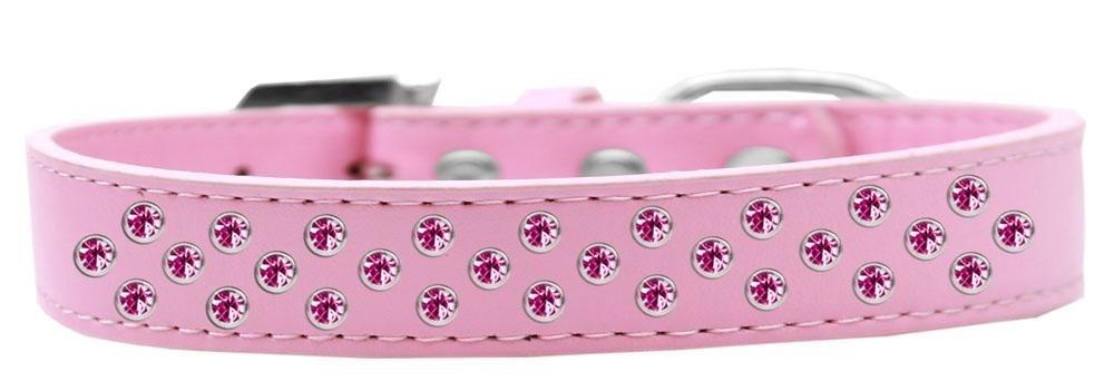 in vendita Mirage Pet Products Sprinkles Dog Collar con con con Cristalli rosa Brillante  outlet in vendita