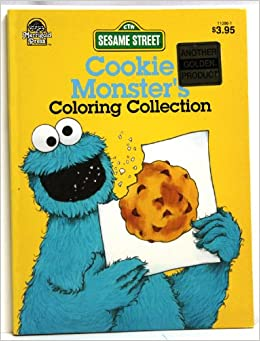 cookie monster golden books 9780307910868 amazoncom books - Cookie Monster Coloring Book