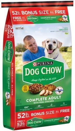 Purina Dog Chow Complete Adult Dog Food 52 lb. Bag