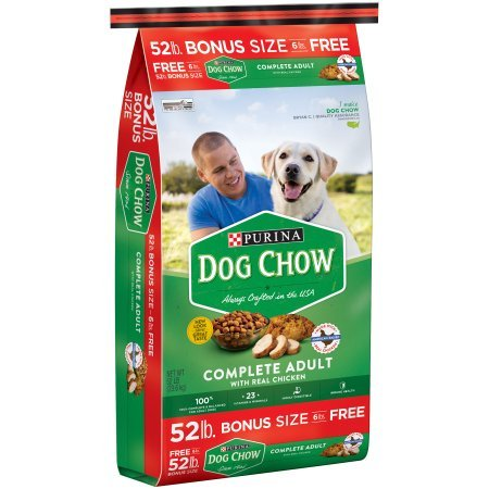 Purina Dog Chow Complete Adult Dog Food 52 lb. Bag