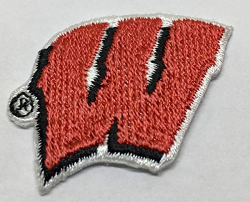 Wisconsin Badgers Small Embroidered Iron on Patch