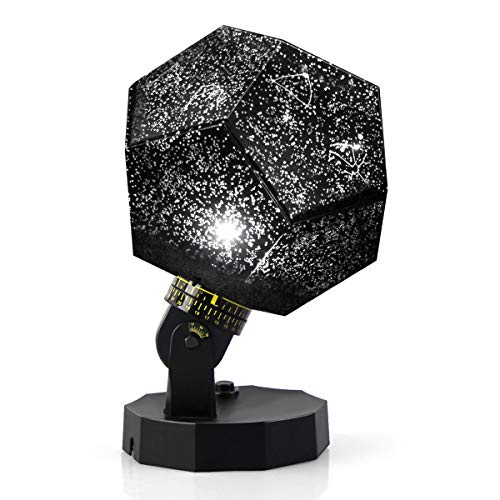 Lisnec Cosmos Star Decorative Projector Lamp, Relaxing Star Projector Lamp, Space Decorations Baby Light Projector Night Lights For Boys, Girls, Kids, Adults