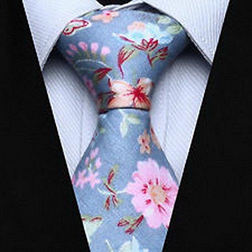 Dan Smatree Blue Beige Pink Floral 2.75