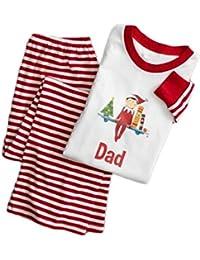 Cotton Winter Sleepwear Christmas Family Pajamas Set