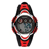 Hiwatch Youth Waterproof Watch Digital Sports Watch with Alarm Stopwatch for Kids Girls Boys Red
