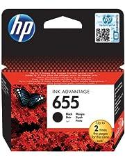 HP CZ109AE No 655 Siyah Kartuş, Siyah, Standart
