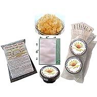 1/2 Cup Organic Original Water Kefir Grains Exclusively from Florida Sun Kefir with 2 Brewing Bags