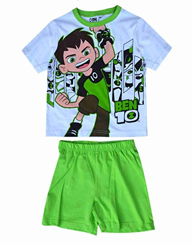 Ben 10 Boys Official Licensed Short Pajamas Age 2-3 Years