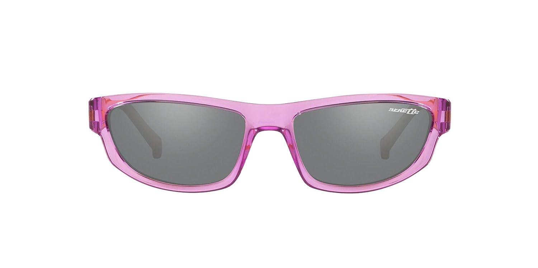 Arnette Mens Lost Boy Rectangular Sunglasses 56 mm Transparent Violet