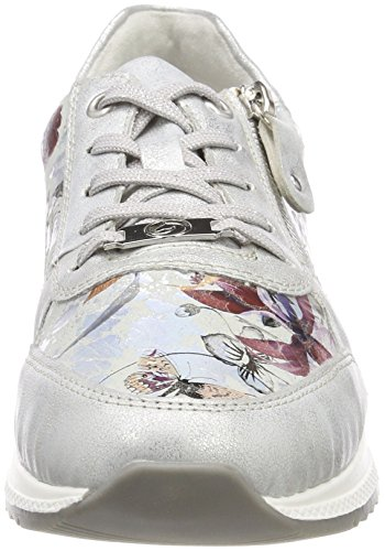 Metallic Women's UK Ice Ice 5 Trainers Offwhite Remonte R7010 Metallic nXPpxRX