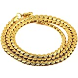 Jewelry Gold Necklace For Men Jewelry 18K Real Gold Plated Chains Jewelry
