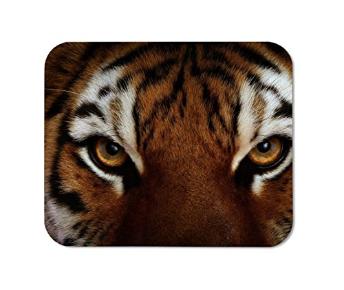 Tiger Eyes Mousepad,Custom Rectangular Mouse Pad