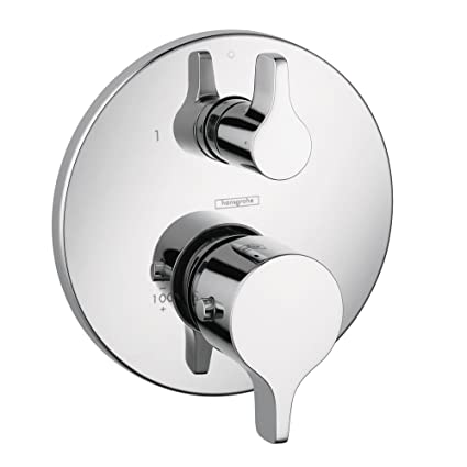 Hansgrohe 04353000 S and E Thermostatic Trim with Volume Control and ...