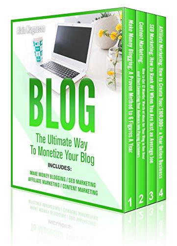 Blog: 4 Manuscripts - Make Money Blogging + Content Marketing + SEO Marketing + Affiliate Marketing