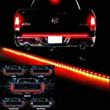 "Waterproof 60"" Red/white Tailgate LED Strip Light Bar Reverse Brake Turn Signal Tail for Ford GMC Toyota Nissan Honda Truck SUV 4x4 Dodge Ram Chevy chevrolet Avalanche Silverado"