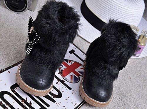 Ohmais Kinder Mädchen flach Freizeit Sandalen Sandaletten Kleinkinder Mädchen Kinderschuhe Stiefeletten Schwarz