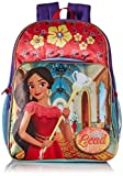 Disney Toddler Girls Elena Born To Lead 13 Inch Backpack, Red, One Size