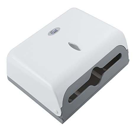 d05599243fe OUNONA Wall-mounted Tissue Paper Holder Bathroom Tissue Paper Container Paper  Towel Dispenser (White