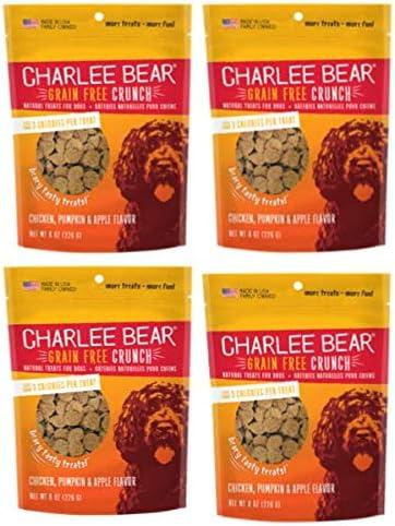 Charlee Bear Crunch Chicken, Pumpkin Apple Flavor Dog Treat