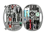 Rosewill Tool Kit RTK-146 Computer Tool Kits for Network & PC Repair Kits Wire Stripper Soldering Iron Flashlight ESD Strap Nose Pliers Phillips Screwdriver Knife Hex Bits Torq Bits Star Bits